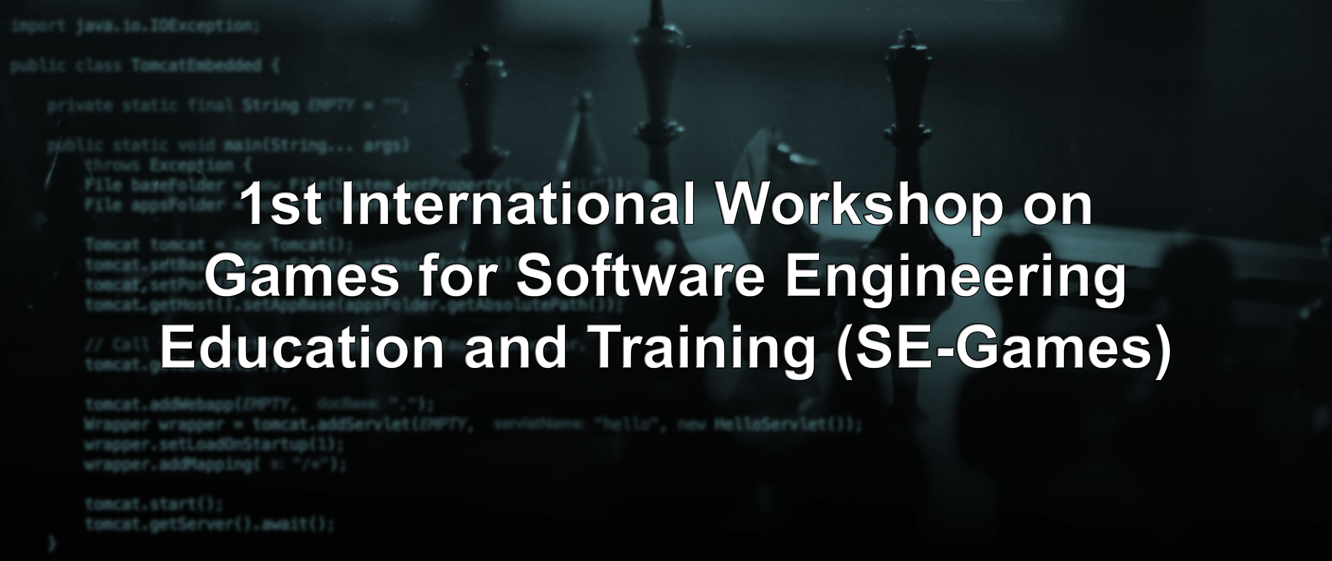 1st International Workshop on Games for Software Engineering Education and Training (SE-Games)